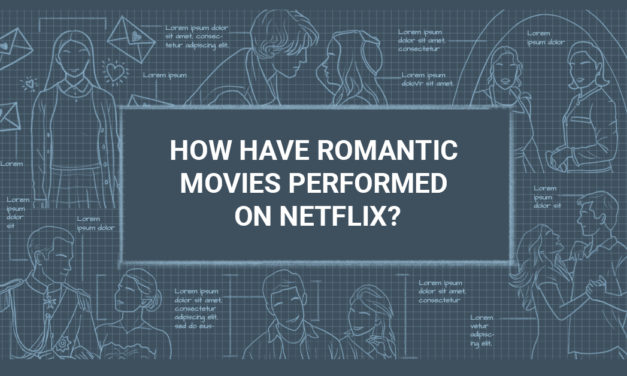 What were the most-watched romantic films on Netflix?
